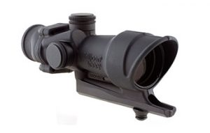 TA01B: Trijicon ACOG 4x32 Scope with .308 Full Line Red Illumination 308 AR Scope Best 308 Scope picture